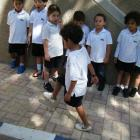 Year 1 Red measuring strides